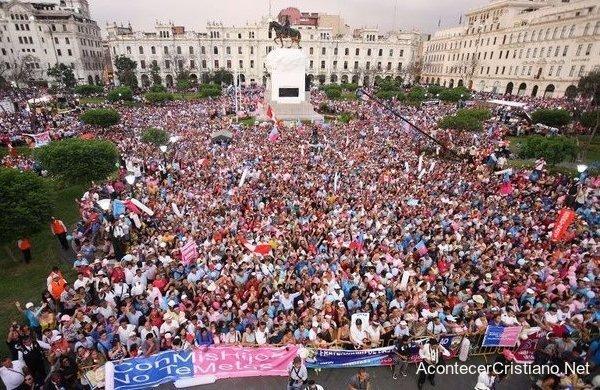Marcha contra la ideología de género