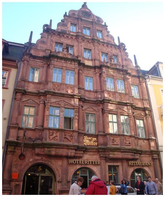 Hotel Zum Ritter St. George, Heidelberg
