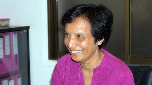 Sylvia SISOWATH, « Princesse du Cœur » du Crédit Mutuel Kampuchea.