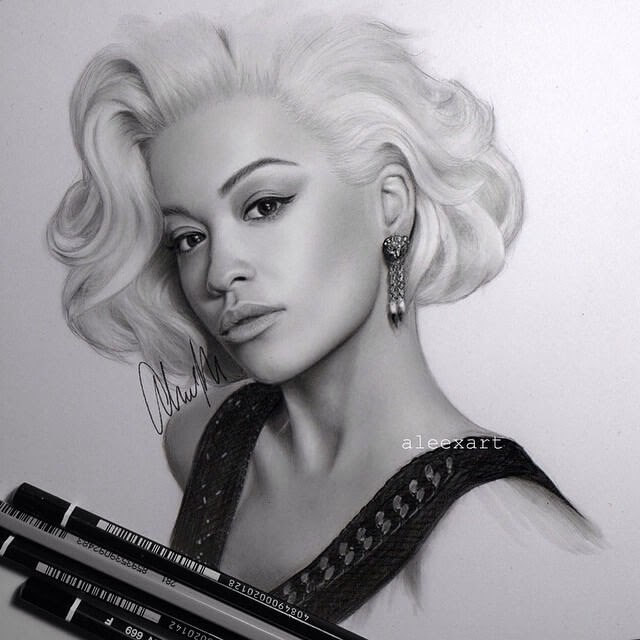 10-Rita-Ora-Alex-Manole-Celebrities-Drawn-in-Realistic-Portraits-www-designstack-co