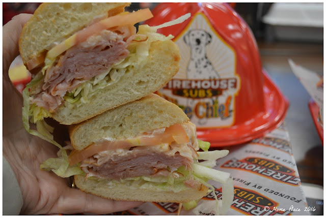 Hook and Ladder Sub - Firehouse Subs
