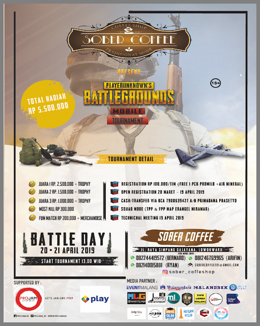 PUBGM Tournament SOBER COFFEE