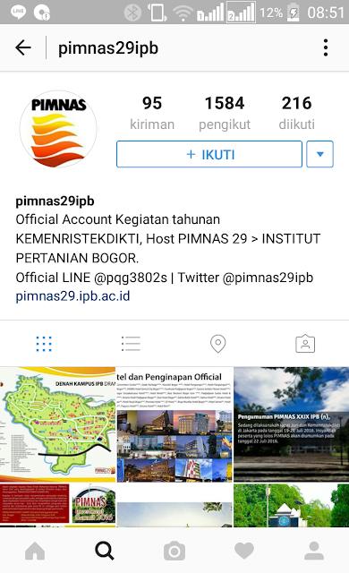 PIMNAS 29 IPB