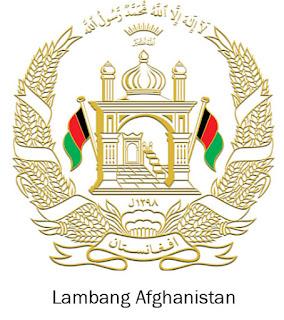 Gambar Lambang negara Afghanistan