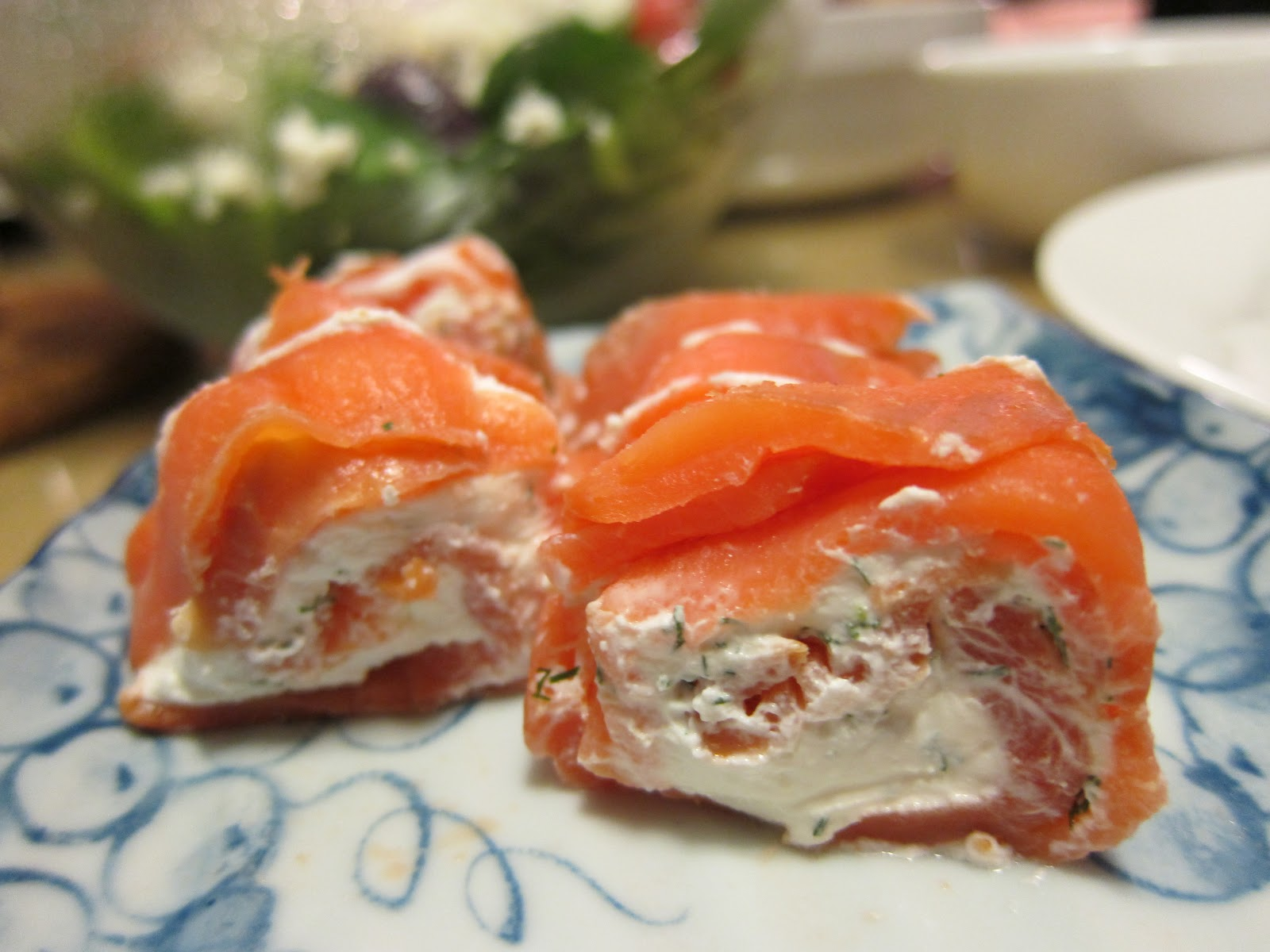 Dining For Two Smoked Salmon And Cream Cheese Appetizer