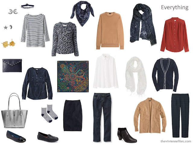 capsule wardrobe inspired by Tarantula Nebula by Gendler and Colombari