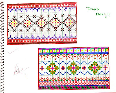 Textile Design Sample