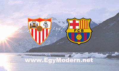 موعد مباراة برشلونة واشبيلية مباشر والقنوات الناقلة