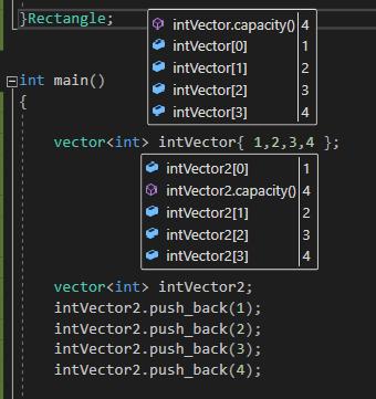 STL vector c++