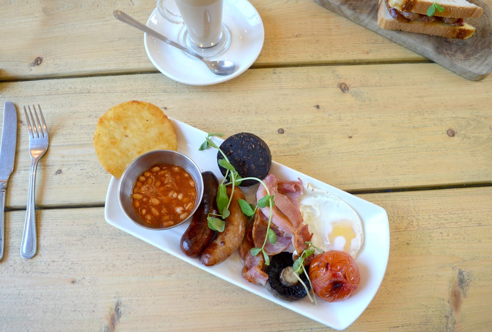 Breakfast at Olives at The Station, Whitley Bay