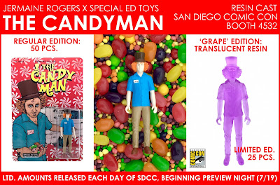 San Diego Comic-Con 2017 Exclusive The Candyman Resin Figure by Jermaine Rogers x Special Ed Toys