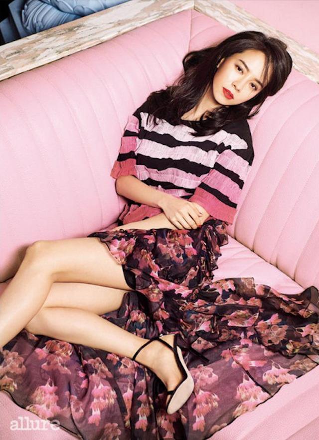 Song Ji Hyo, Song Ji Hyo Allure, Song Ji Hyo 2017
