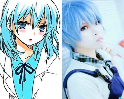 "Cosplay Terbaik dari Transformasi Karakter Cowok ke Cewek Anime Kuroko By ""wafa_hr_anime"""