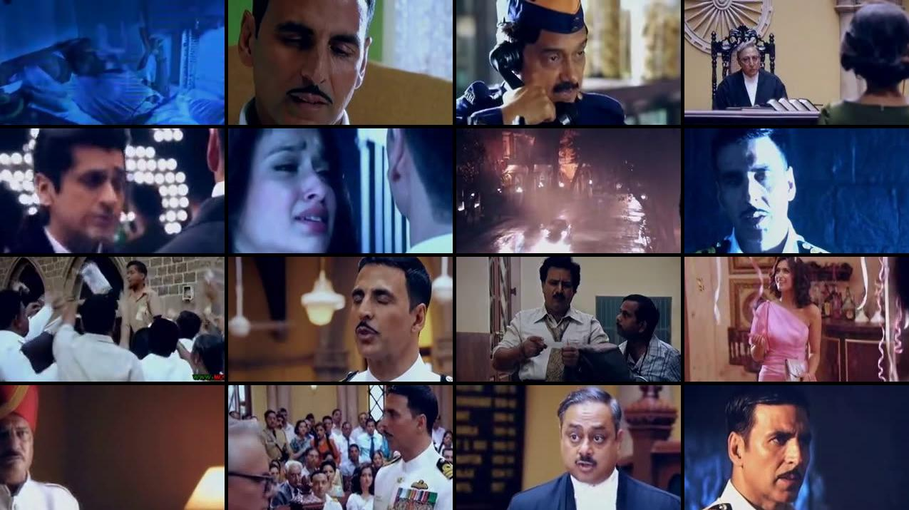 Rustom 2016 Hindi DVDScr 150MB HEVC Screenshot