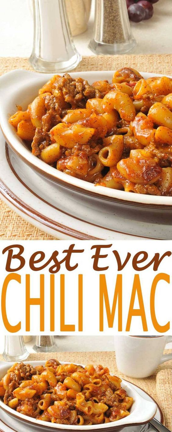 BEST CHILI MAC RECIPE