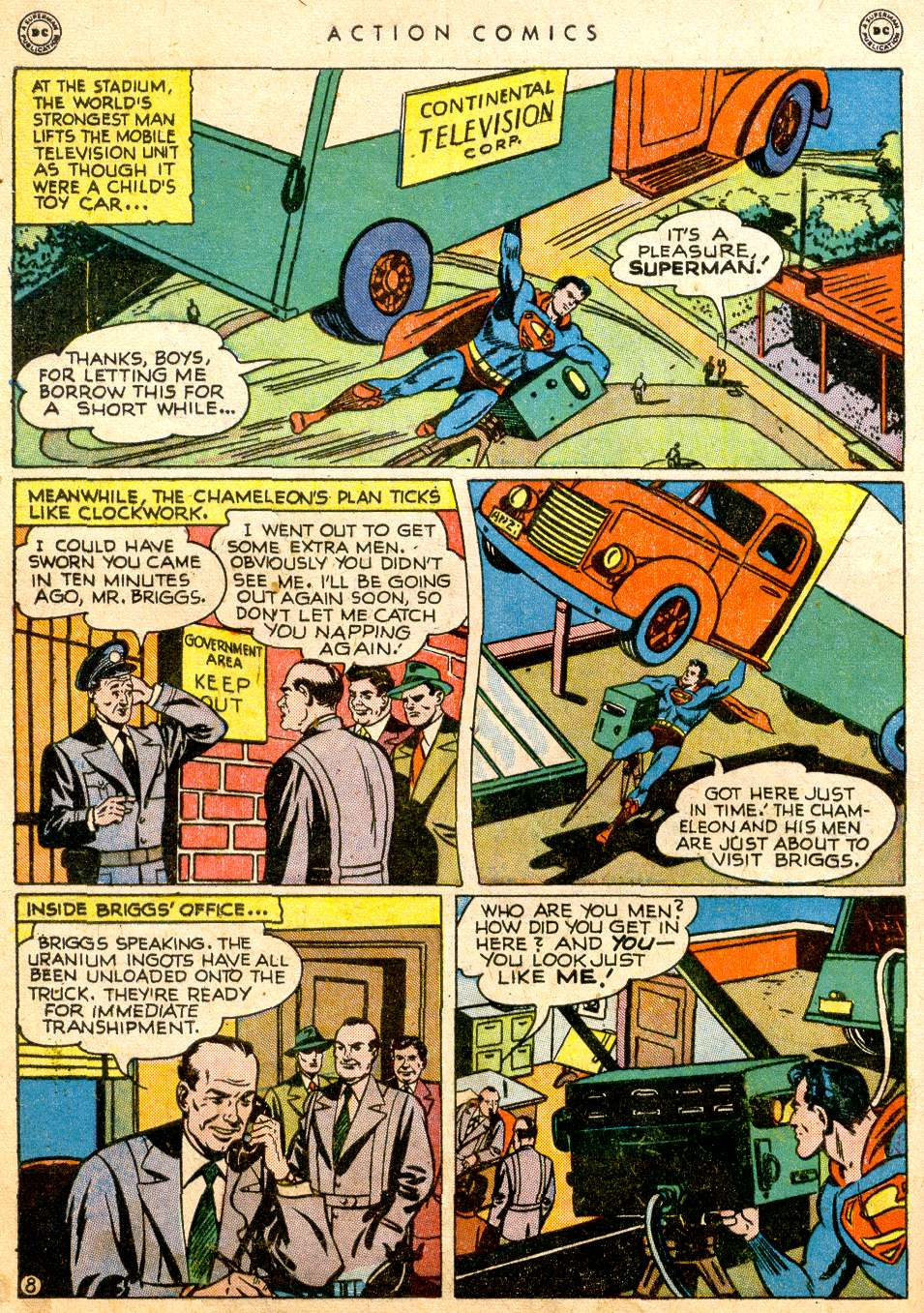 Read online Action Comics (1938) comic -  Issue #126 - 10