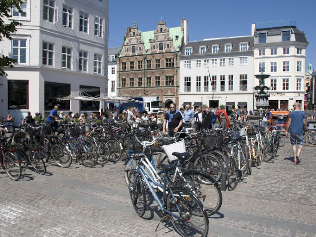 Andar de bicicleta em Copenhague, Dinamarca