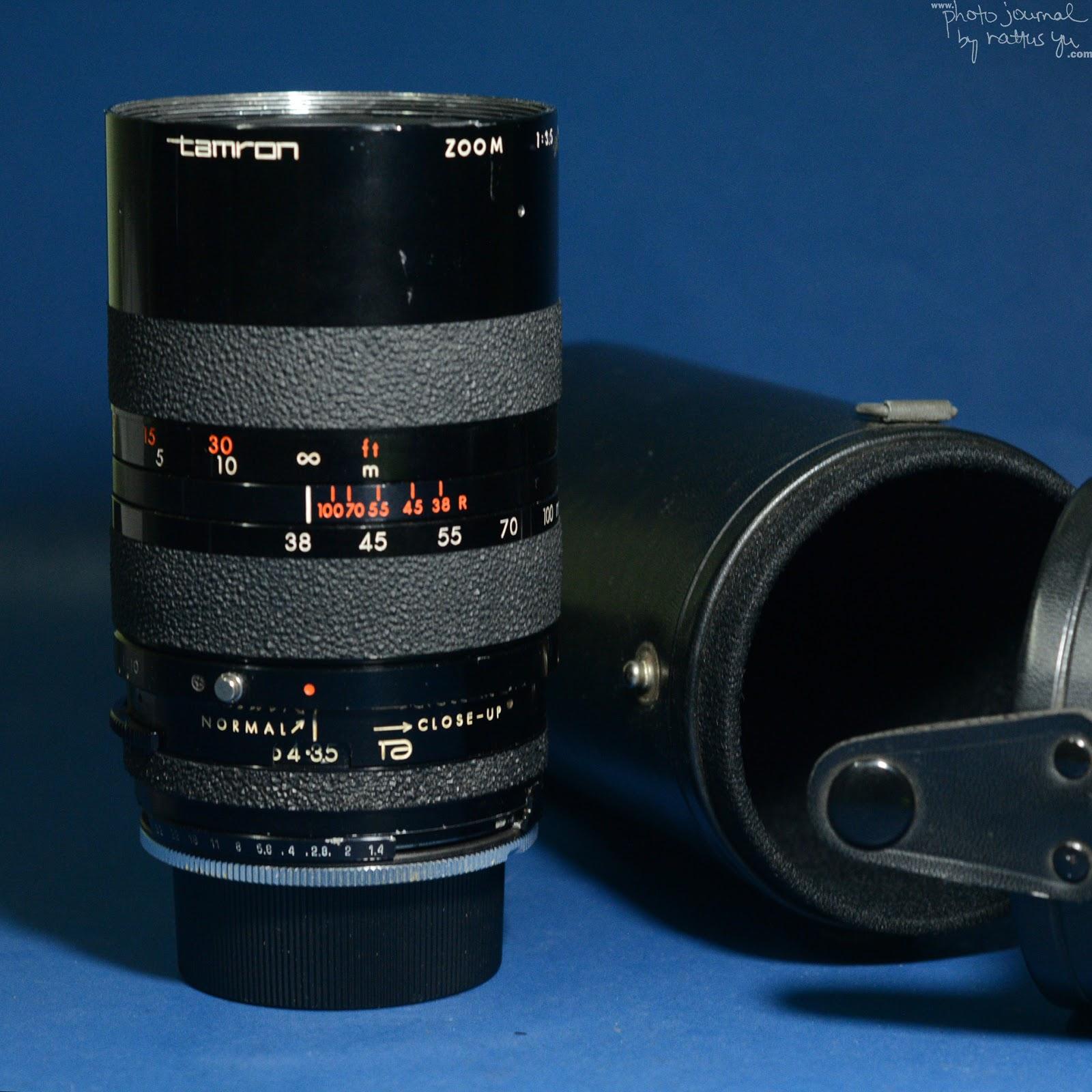 Tamron Adaptall 38-100mm f/3.5 (CZ-38M)