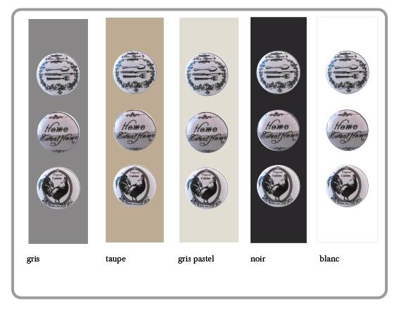 bouton de meubles vintage
