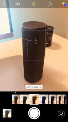 Filter Baru dan UI Seleksi Aplikasi Kamera iPhone