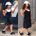 Fan poses as North West for Halloween