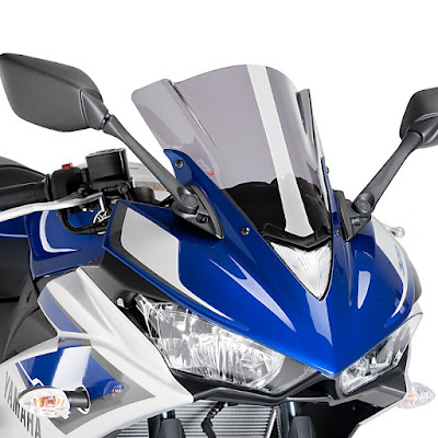 2016 Yamaha YZF-R3 front headlight
