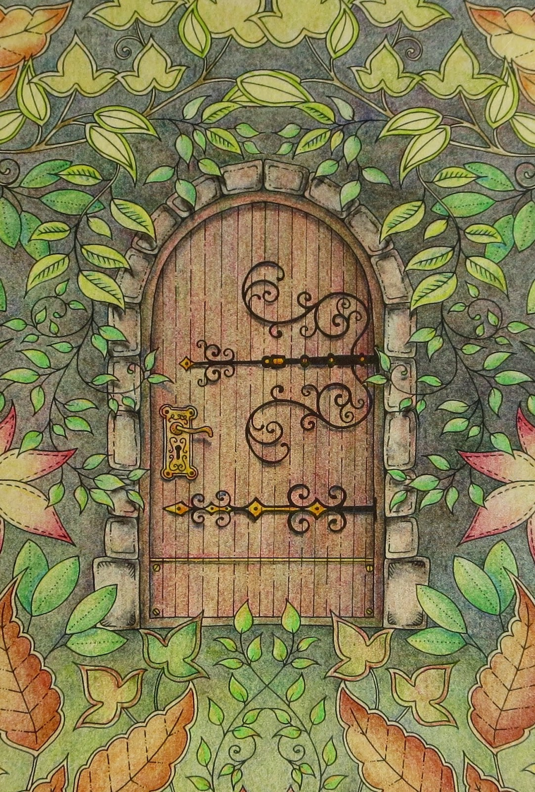 Secret Garden: Passion For Pencils: My Secret Garden Colouring Book, Part 4