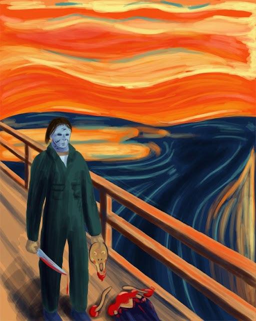 El grito de Munch - Versión Michael Myers