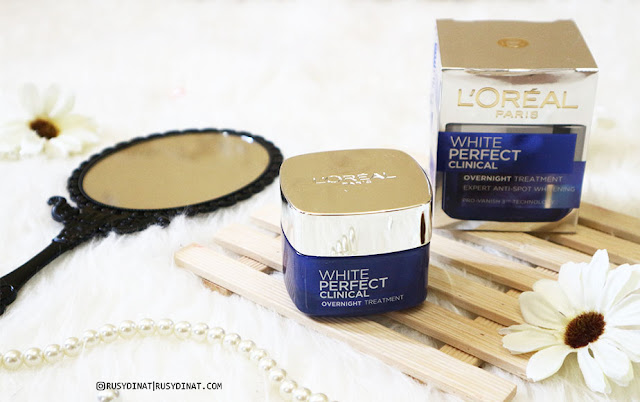 L'Oreal White Perfect Clinical Overnight Treatment