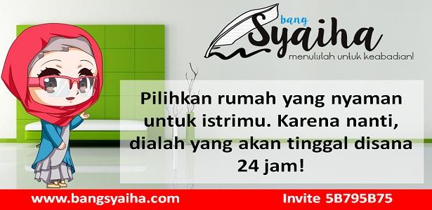 Rumah kontrakan, Hal penting yang harus dipertimbangkan dalam memilih rumah kontrakan, Bang Syaiha, http://www.bangsyaiha.com/