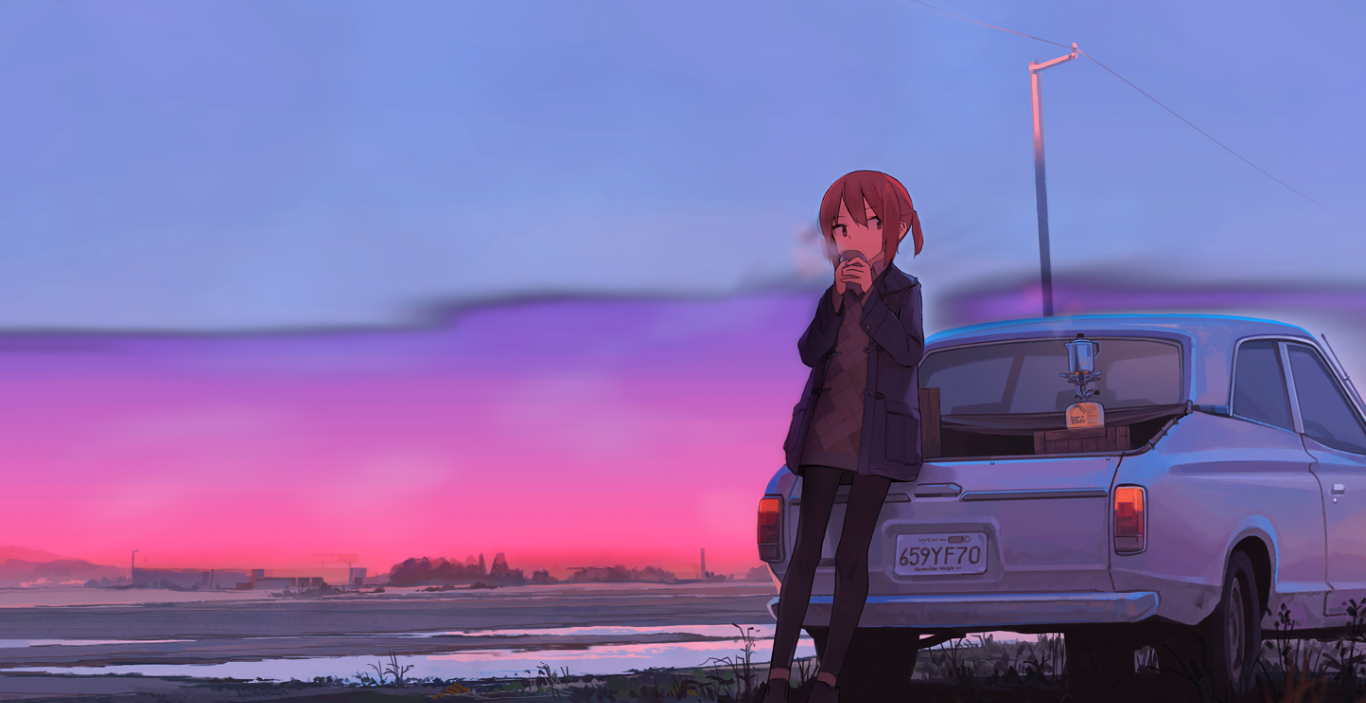 'A New Day' Chill & Study [Animated][Uwide] [Wallpaper Engine Anime]