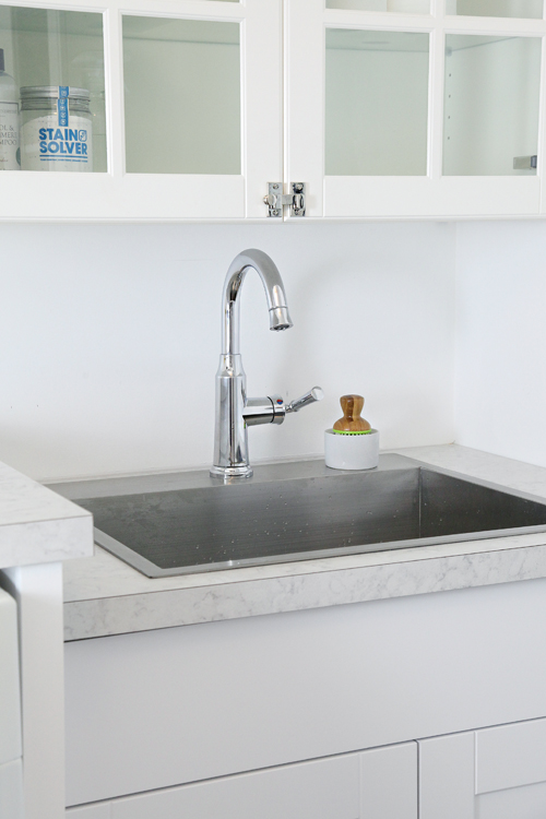 Drop In Laundry Room Sink : This was our first DIY plumbing installation of this nature, and we ...