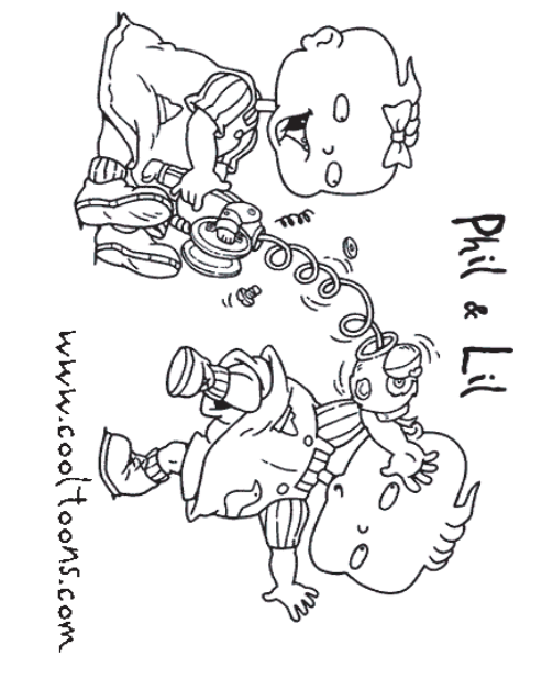 Printable Rugrats Coloring Pages For Kids | 618x503