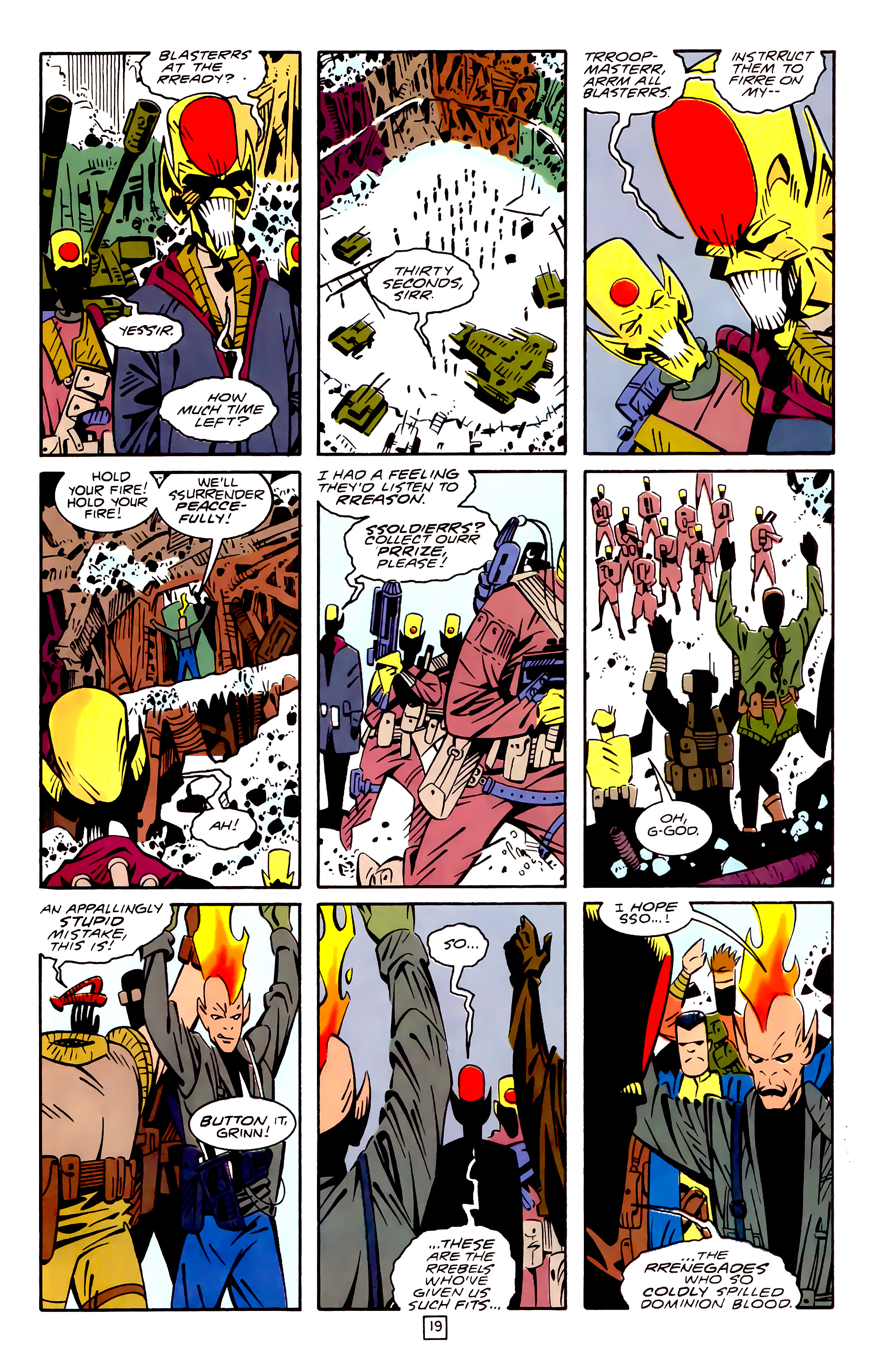 Legion of Super-Heroes (1989) 32 Page 19