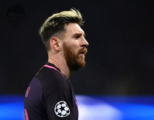 Model Gaya Rambut Lionel Messi