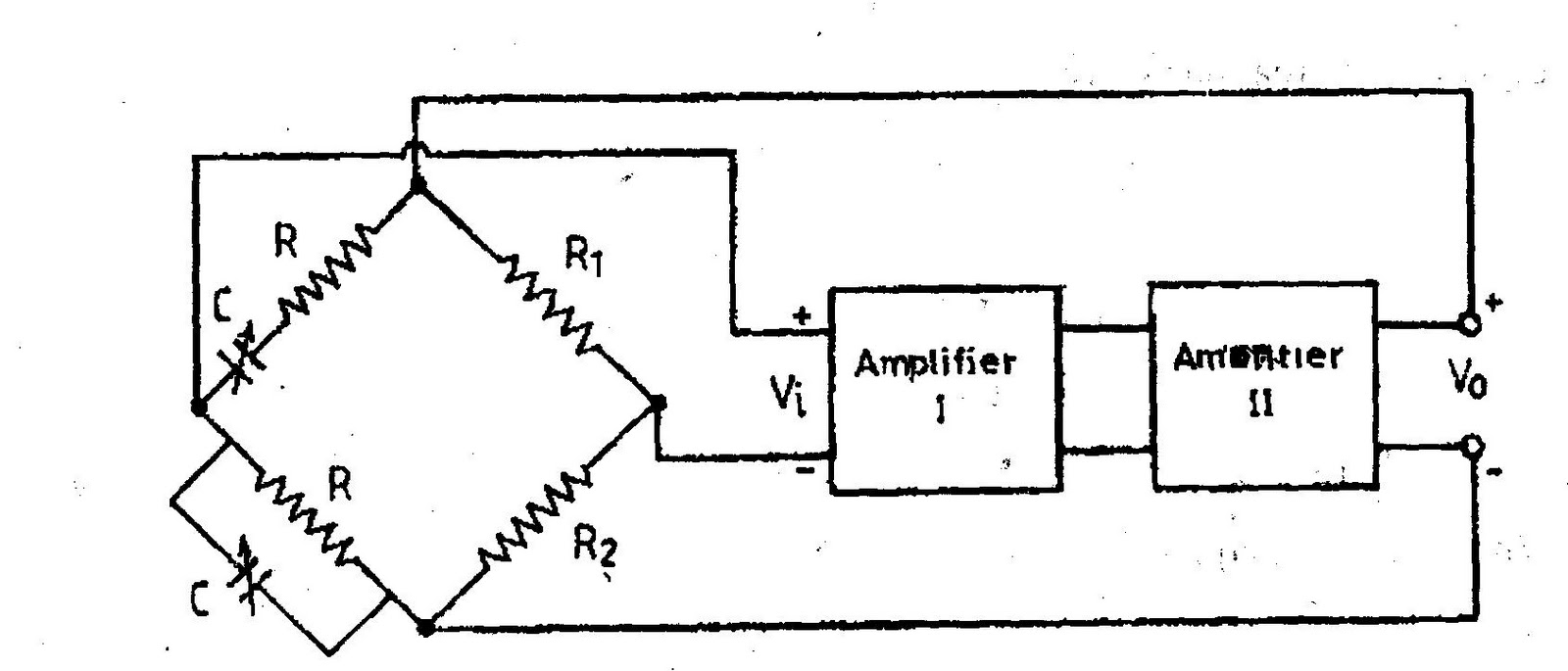 A Media To Get All Datas In Electrical Science September 2011 Current Load Isolation Amplifier Circuit Amplifiercircuit This Is Obtained By Introducing Two Resistances R1 And R2 The Feedback Network As Shown Figure