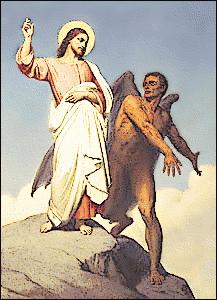 La tentación de Cristo.