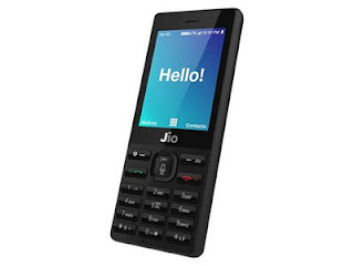 Reliance Jio Phone front