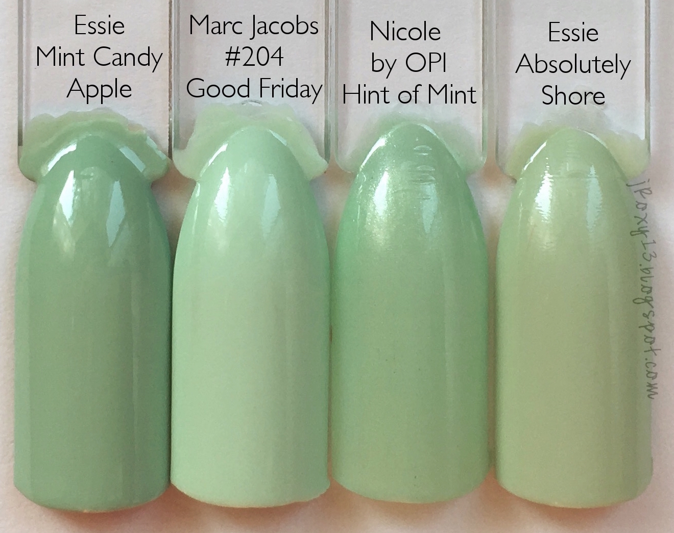 Mint Green Peep Toe Shoes