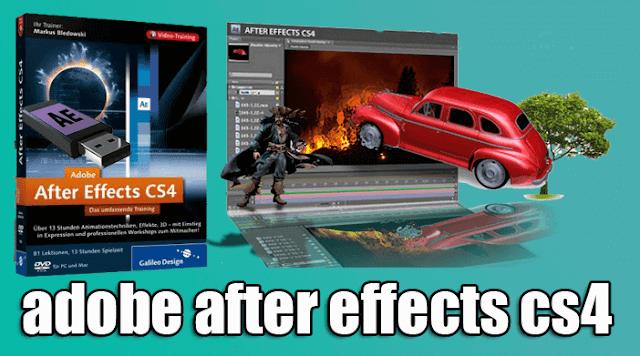 تحميل برنامج Adobe After Effects CS4 نسخة محمولة