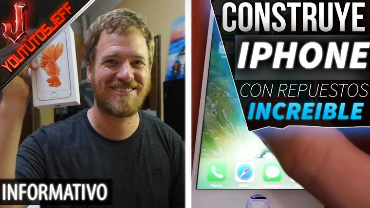 Construye su propio iPhone 6s usando solo repuestos