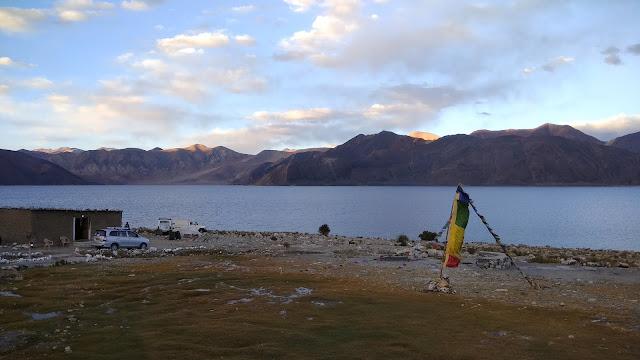 Leh Ladakh Bike Trip and Pangong Lake