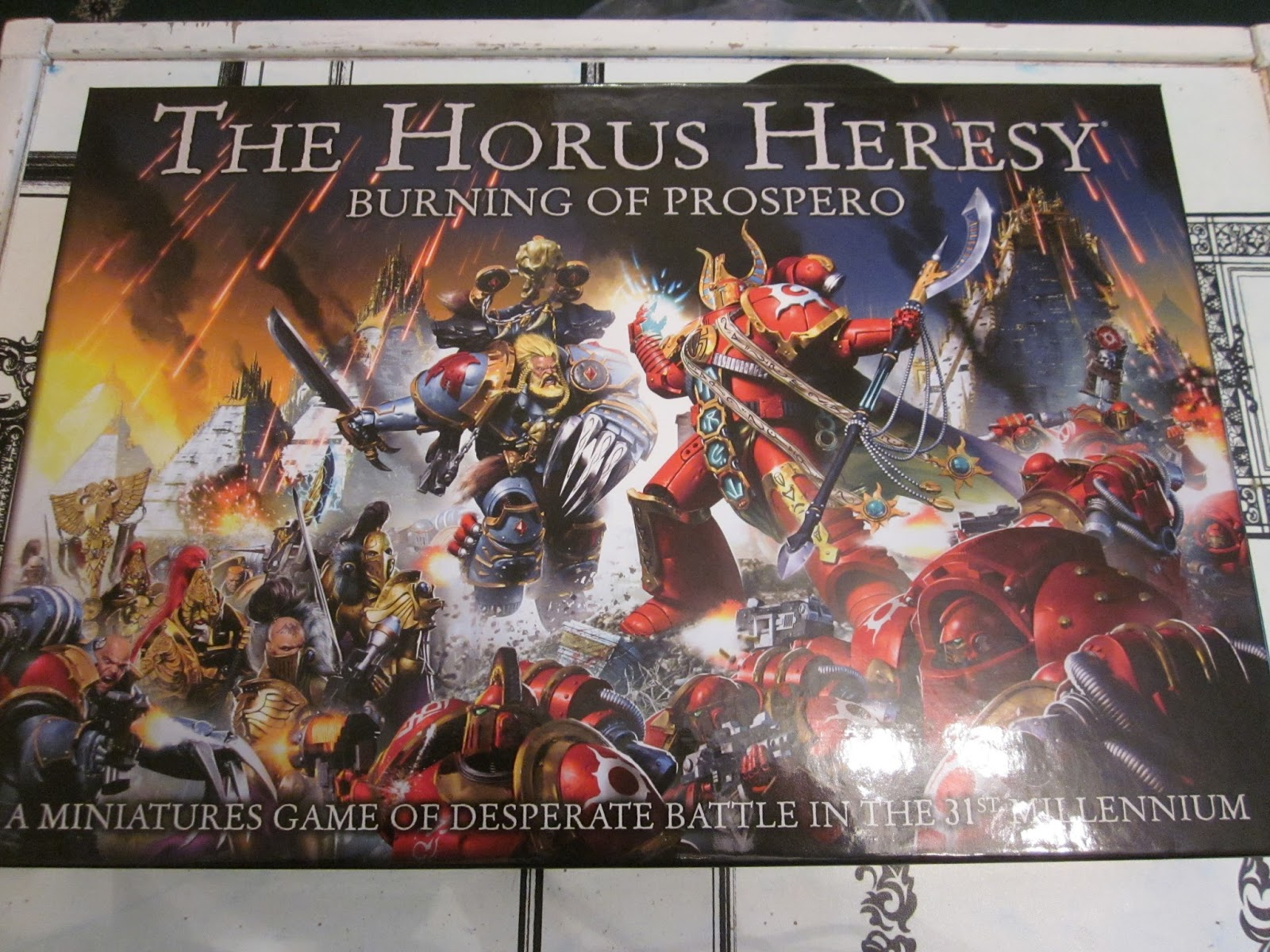 A Warhammer 30k Horus Heresy and 40k blog - Four Dads of the