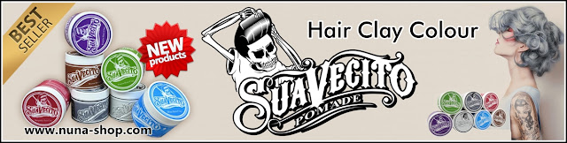 SUAVECITO COLOR / COLORING WAX CLAY POMADE COLOUR WARNA TIDAK PERMANEN