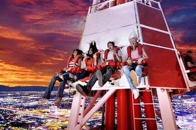 Stratosphere Las Vegas Bug Shot Elevator