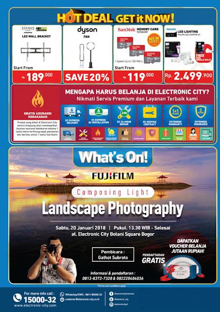 ELECTRONIC CITY Katalog Belanja dan Promosi Weekend Promo periode 19-25 Januari 2018