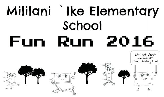 Mililani `Ike Elementary School Blog: Fun Run T-shirt Design
