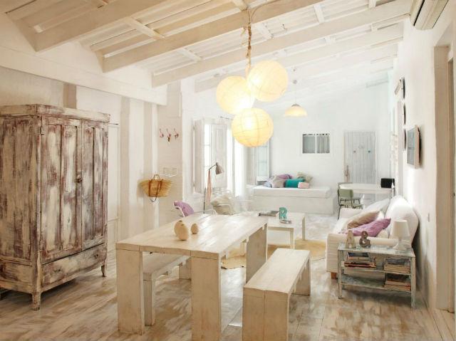 Una pizca de hogar las mejores ideas para decorar una - Decoracion de casas antiguas ...