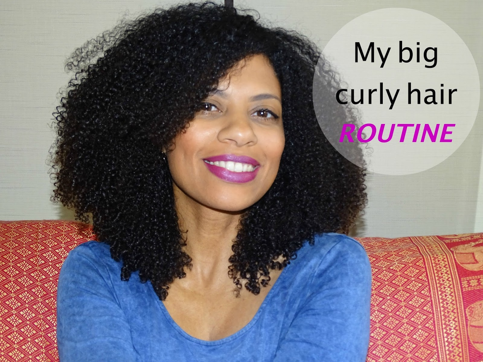 Big Curly Hair Styles: My Big Curly Hair Routine- Wash And Go Greatness