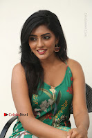 Actress Eesha Latest Pos in Green Floral Jumpsuit at Darshakudu Movie Teaser Launch .COM 0181.JPG
